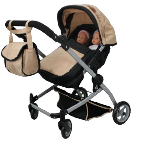 Stroller Baby Does 234 Origin baby doll pram stroller luxury look carriage play sand color new ebay