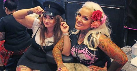 tattoo convention wrexham major tattoo festival draws ink redible numbers to wrexham