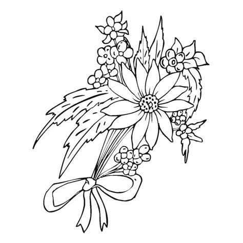 imagenes de flores sin pintar dibujos de flores bonitas para colorear