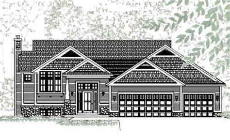 larkspur house plan inviting traditional style bi level house plan larkspur