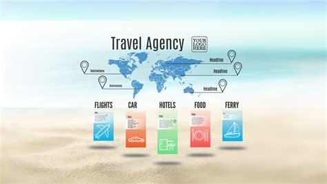 travel bureau travel agency prezi template prezibase