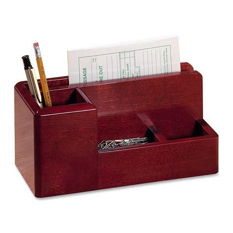 Rolodex Wood Tones Desktop Organizer Ld Products Desk Top Organizers