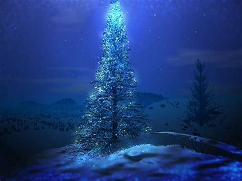 3d christmas tree hd wallpaper