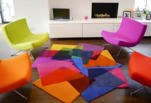 Contemporary Wool Rug After Matisse Contemporary Modern Area Rugs By Sonya Winner