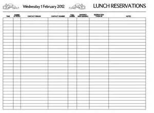 reservation book template restaurant reservation restaurant reservation book
