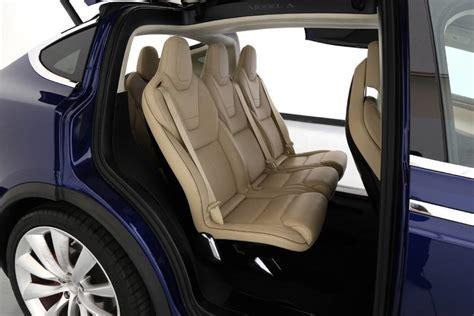 Tesla Seating For 7 2016 Tesla Model X Ebay