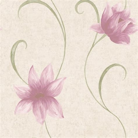 pale pink wallpaper uk coloroll ava floral wallpaper light beige pink m0515