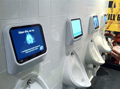 video game bathroom decor pee controlled gaming coming to your bathroom soon