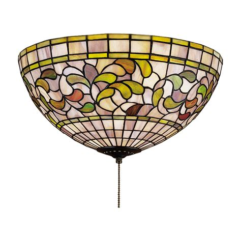 stained glass ceiling fans lighting and ceiling fans