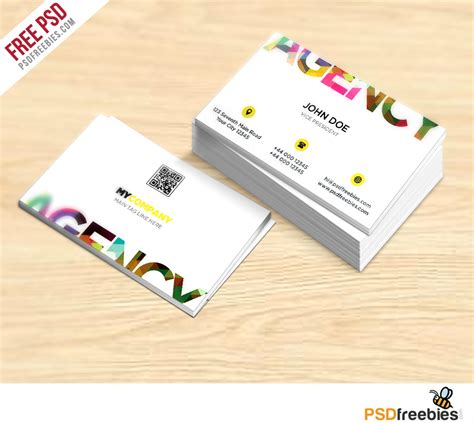 cards photoshop template creative business card free psd template psdfreebies