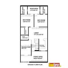 50 yard home design house plan for 30 feet by 45 feet plot plot size 150