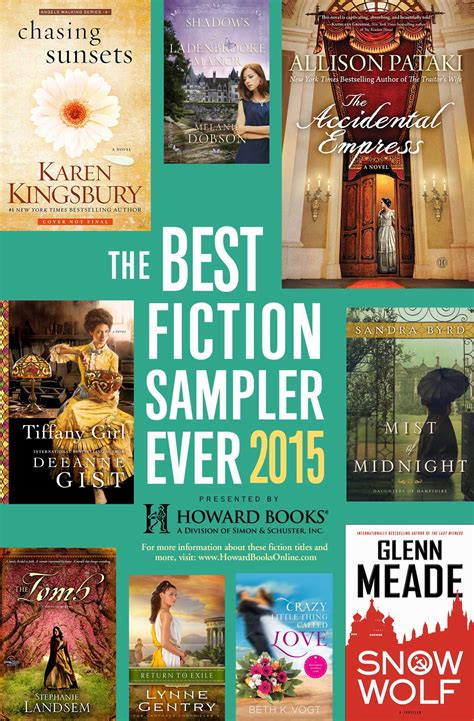 pictures of fiction books the best fiction sler 2015 howard books ebook by