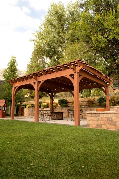 backyard pergola kits backyard deck pergola lattice fullwrap cantilever roof