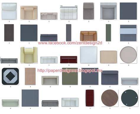 350 png furniture view top premium zent design 2d
