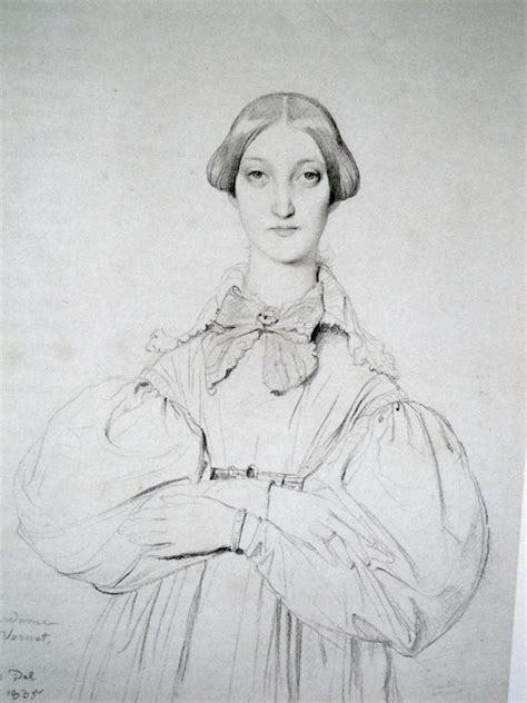 Portraits And Sketches by Surface Fragments Ingres Portrait Drawings And The