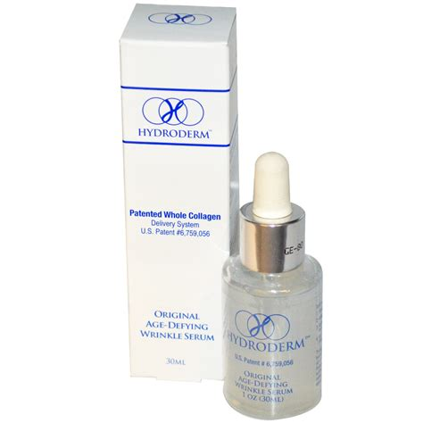 Original Serum extension hydroderm original age defying wrinkle serum 30 ml iherb