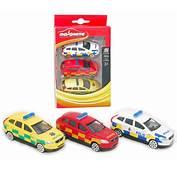 Volvo XC60 Swedish Emergency Vehicles Set By Majorette