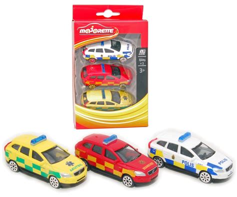 volvo xc swedish emergency vehicles set  majorette