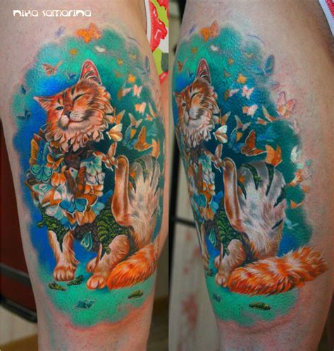 it tattoo cat tattoos every cat design placement and style