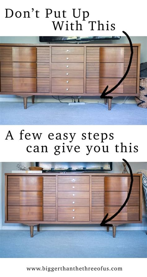 How To Hide Electrical Cords In Living Room by Hide Those Cords Hiding Tv Wires Etc