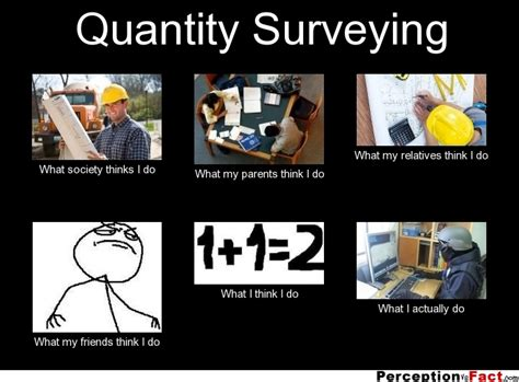 What I Do Meme - quantity surveying what people think i do what i