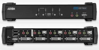 Sale Kvm Switches Aten Dvi D Kvm Cable X0009 2l 7d02v kvm choice uk cs1764a aten 4 port dvi usb kvm switch with multimedia supplied with cables