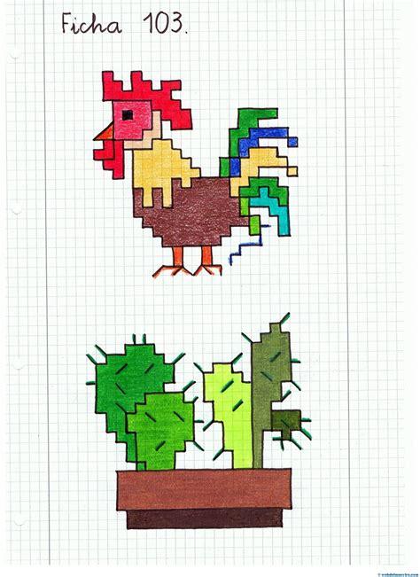 imagenes faciles para dibujar en cuadricula dibujos en cuadr 237 cula ii web del maestro