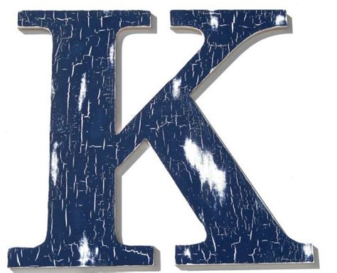 wooden letter k decor letter k wooden letters and letters on pinterest