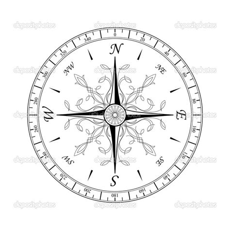vintage compass rose tattoo compass lettering fonts printables