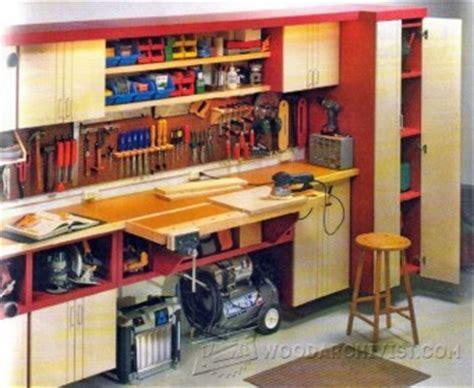 one car garage workshop a one car garage workshop woodarchivist