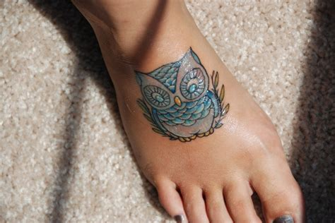 cute small owl tattoos owl tattoos