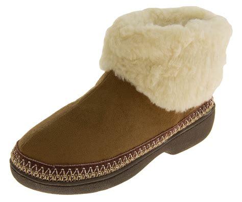 comfy slipper boots womens boot slippers warm soft winter comfy flat