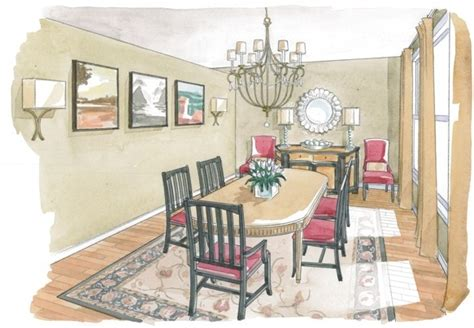 sketch of dining room 24 best images about sketches rendering on perspective ux ui designer and