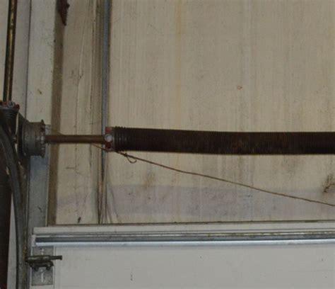 Garage Door Springs Broken Garage Door Springs Repair Anco Ovehead Door