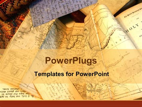 microsoft powerpoint themes history powerpoint template old tan maps of the world for