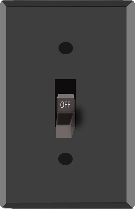 clipart light switch