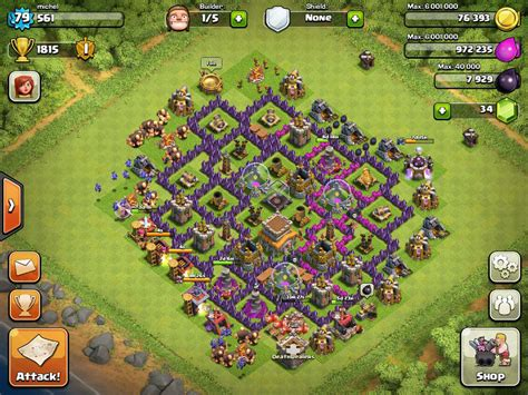 coc village layout level 8 top 10 clash of clans town hall level 8 defense base design