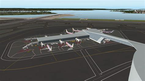 x plane layout news scenery released la guardia 2020 by airporttech