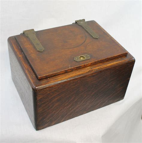 arts and crafts box for bargain s antiques 187 archive oak arts crafts