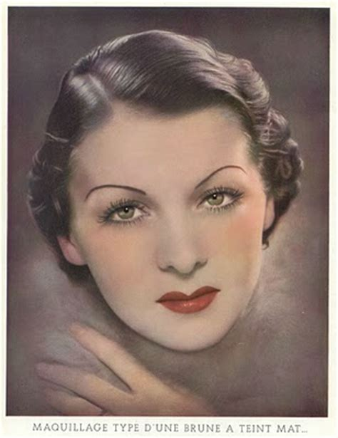 hairstyles in the 20s and 30s paint me chic evolution of makeup part 1 20s 50s