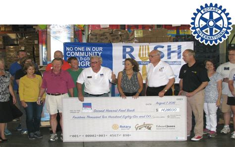 Food Pantry Winston Salem by Rotarians United To Stop Hunger Kernersville Rotary