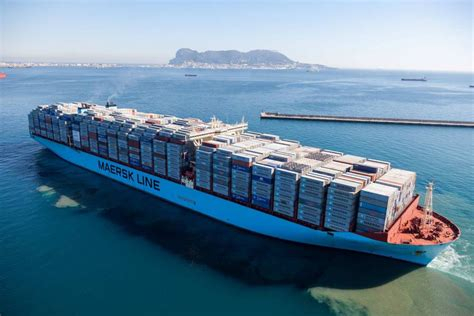 Largest Cruise Ship In The World maersk giant breaks 18 000 teu ceiling world maritime news