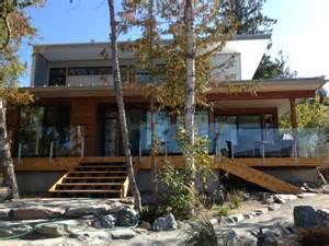 lindal homes lindal cedar homes modern exterior calgary by