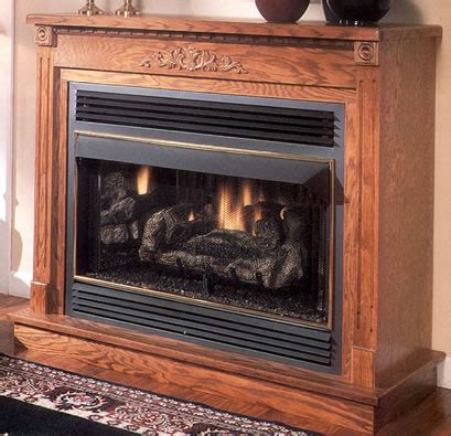 Ventless Gas Fireplace With Mantel Fireplaces The Fireplace Center