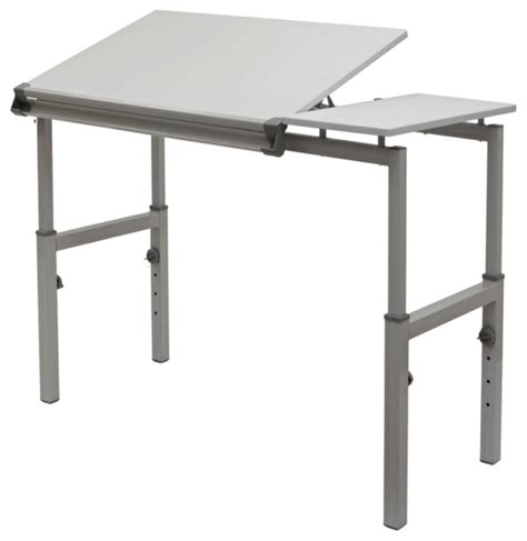 Studio Designs Graphix Workstation White Modern Modern Drafting Table