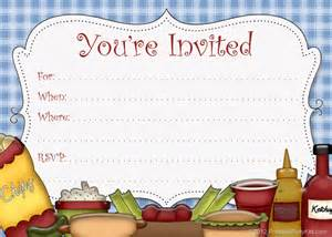 Cookout Invitation Template by Picnic Invitation Template Best Template Collection