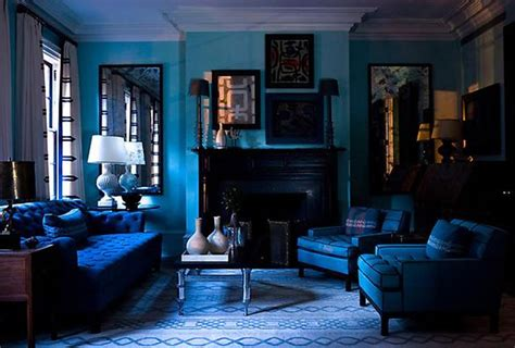Living Rooms In Blue by 15 Beautiful Blue Rooms