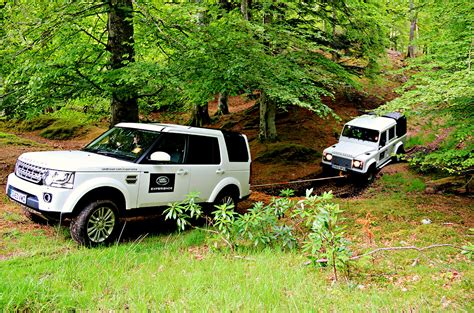 land rover driving course 4x4 road driving and professional 4x4 land