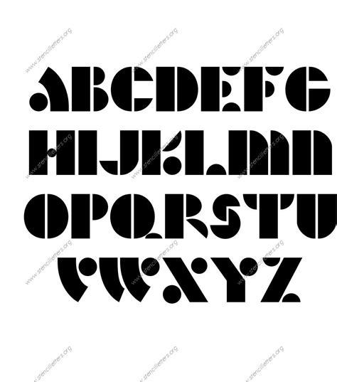 custom stencil templates deco bold custom made letter stencils stencil