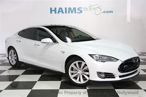 Used Tesla 2014 Used Tesla Model S 4dr Sedan 60 Kwh Battery At Haims